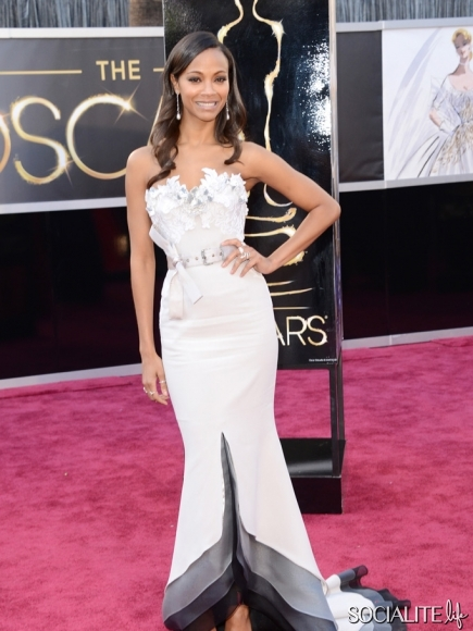 Zoe-Saldana-Alexis-Mabille-Couture-Academy-Awards-Hollywood-Ca-02232013-01-435x580