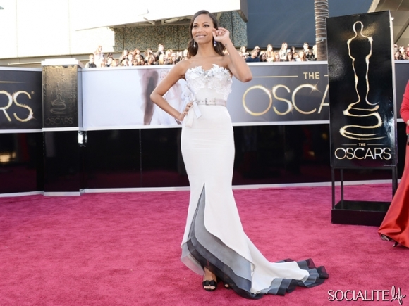 Zoe-Saldana-Alexis-Mabille-Couture-Academy-Awards-Hollywood-Ca-02232013-03-580x435